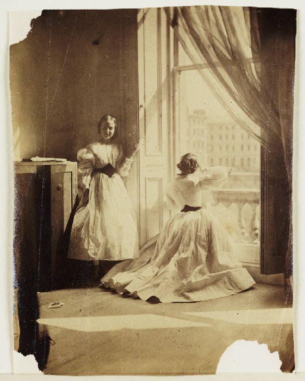 South Kensington Window by Clementina Hawarden 1860
