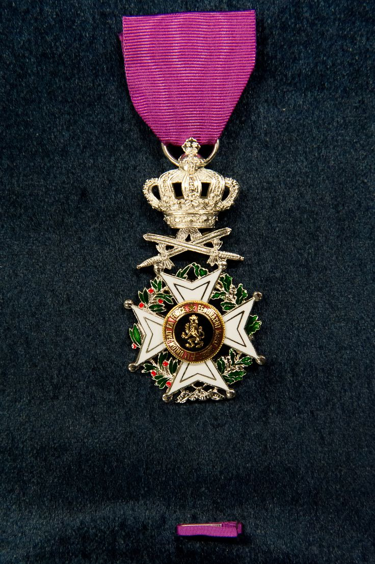 order medal decoration Order of Leopold (military), Knight