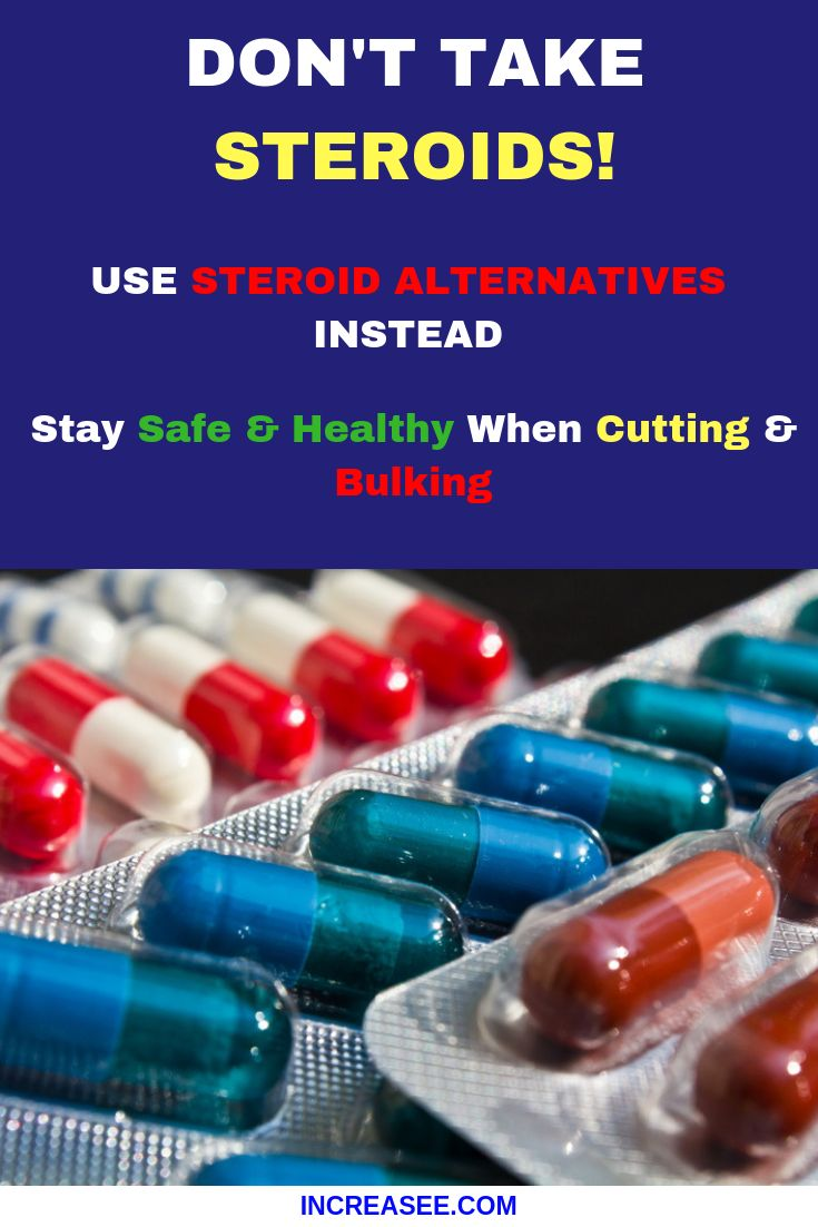 an introduction to the safe alternative to steroids Steroids are usually injected into one of the mother's large muscles (arms, legs, or buttocks) the injections are given two to four times over a two-day period, depending on which steroid is used.
