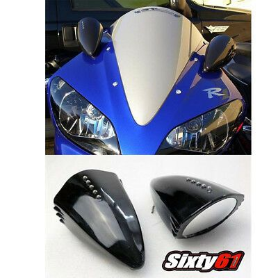 Sponsored Ebay Zx6 Zx7 Zx9 636 Pig Spotter Mirrors Black Custom Led Turn Signals Kawasaki In 2020 Black Mirror Kawasaki Motorcycle Parts And Accessories