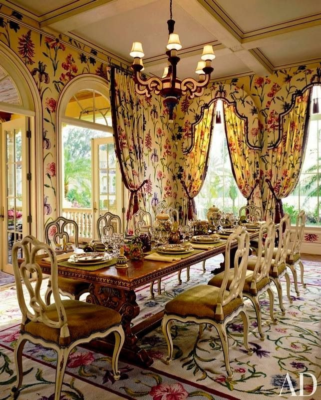 Beautiful Dining: Beautiful Dining Room, #PalmBeach