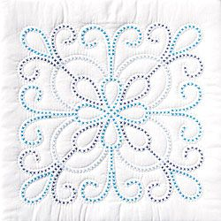 Get started on the quilt you have always wanted to make with this convenient set Jack Dempsey quilt set includes enough pre-cut fabric to make six quilt blocks Each finished block measures 18-inches s