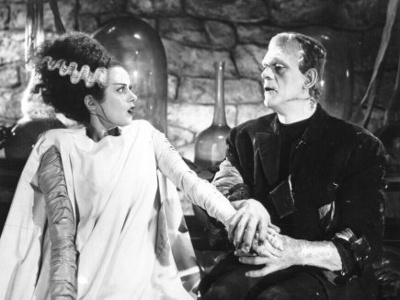 Marry me? :): Frankenstein Monsters, Brides, The Bride, Horror Film, Bride Of Frankenstein, Horror Movie, Frankenstein 1935, Monsters Mashed, Halloween