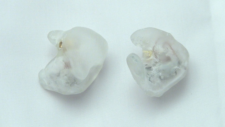 Get your in ear monitors customized today by www.inearcustom.com for only $119 In Ear Custom clear shell capped Shure SE 425   http://www.inearcustom.com