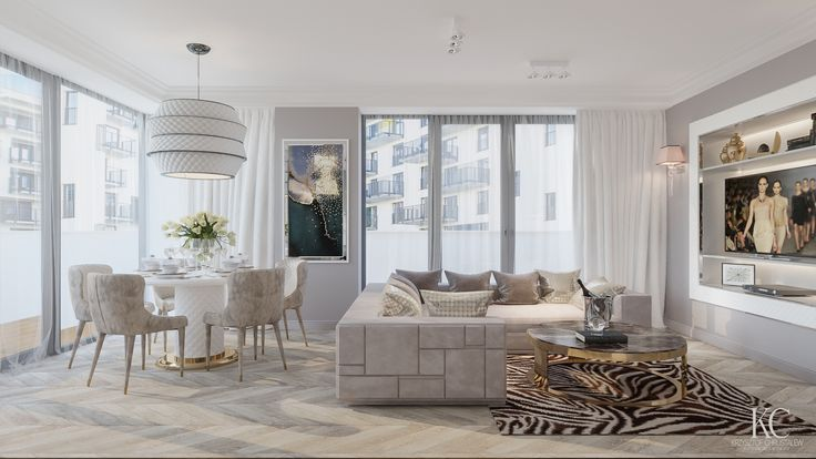 Luxury livingroom , sofa Visionnaire Babylon design by Krzysztof Chrustalew