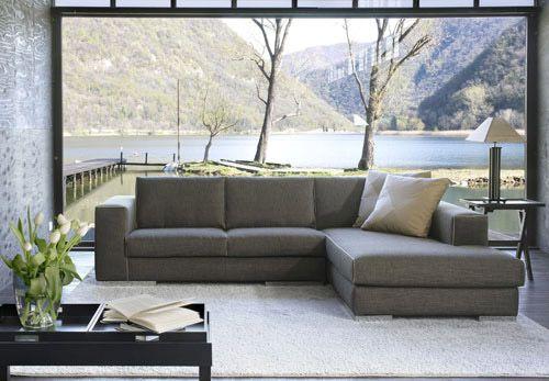 Divani angolare con chaise-longue in tessuto sfoderabile modello Blow - Tino Mariani http://www.tinomariani.it/prodotti/blow.html