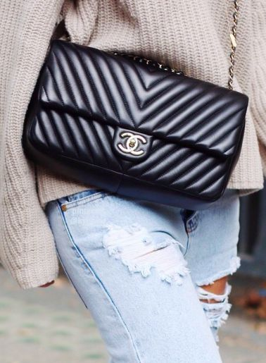 chanel chevron maxi flap bag