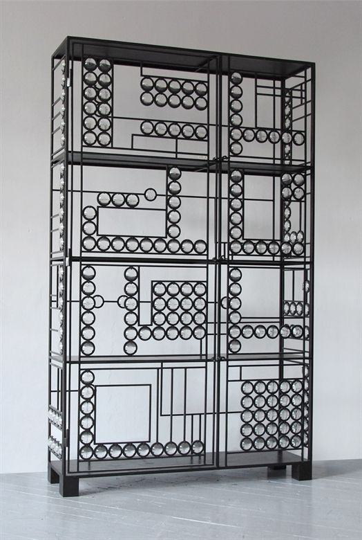 Christophe Côme / Grand Cabinet / Iron and Glass / 2001