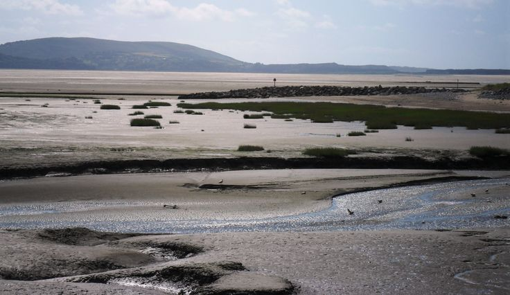 Llanelli  - looking towards the Gower.