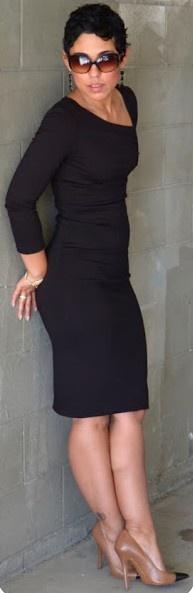 lil Black dress style   Keep the Glamour   BeStayBeautiful