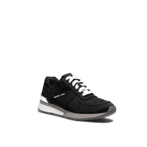 Cheap MK Outlet Online & MICHAEL MICHAEL KORS Allie Nylon And Leather Sneaker BLACK