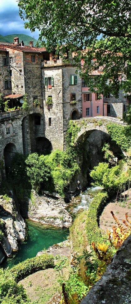 Bagnone, Tuscany, Italy. Places to travel before you die.
