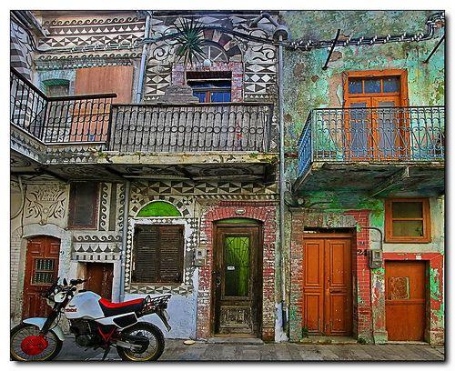 Two worlds apart | Pyrgi village Chios Greece | Tolis Flioukas | Flickr