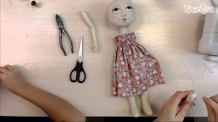 """День 3. Школа """"Панпина"""". Создание куклы """"Эльза""""."""