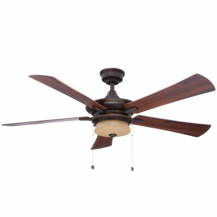 Hampton Bay Winthrop 52 in. Rustic Bronze Ceiling Fan-YG213A-RB - The Home Depot