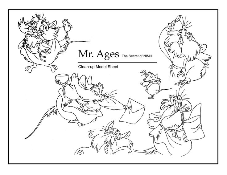 fievel coloring pages - photo#43