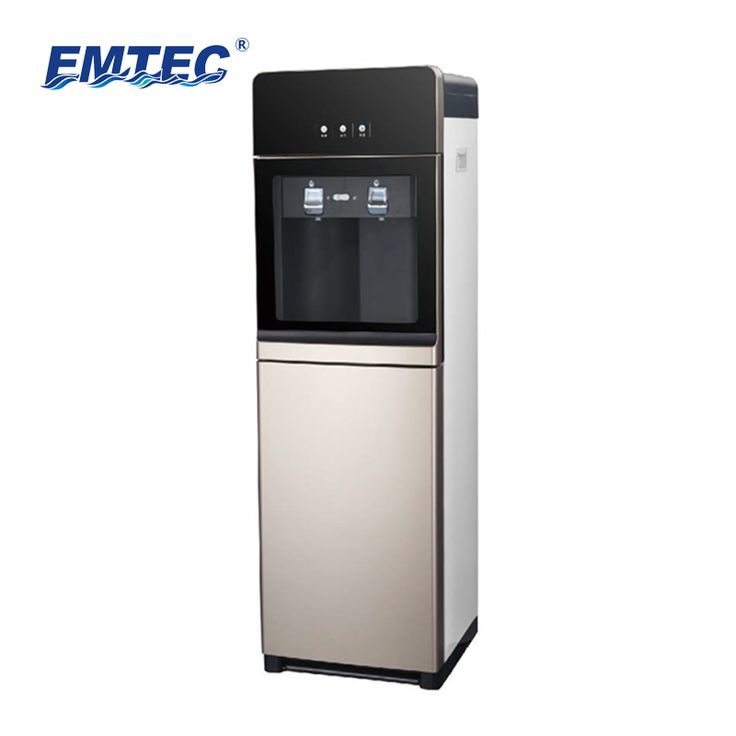 Emate electronic hot and cold ro water purifier 5 stages standing direct drinking machine