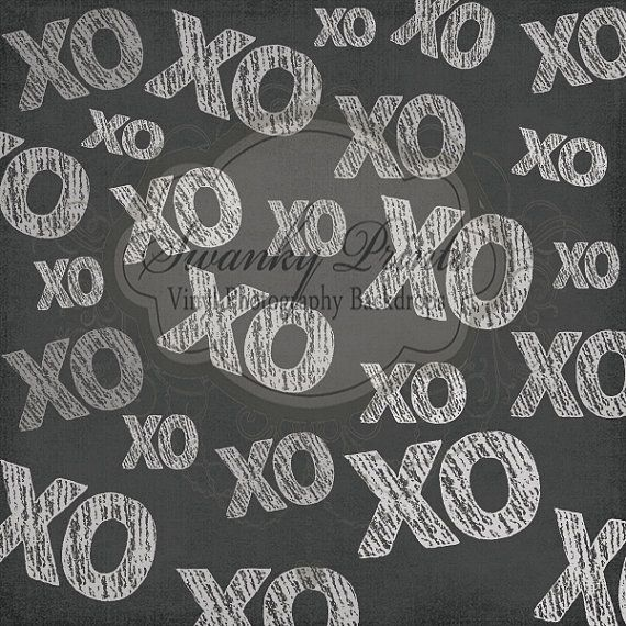 Valentines XO Hugs & Kisses - Oz Backdrops and Props