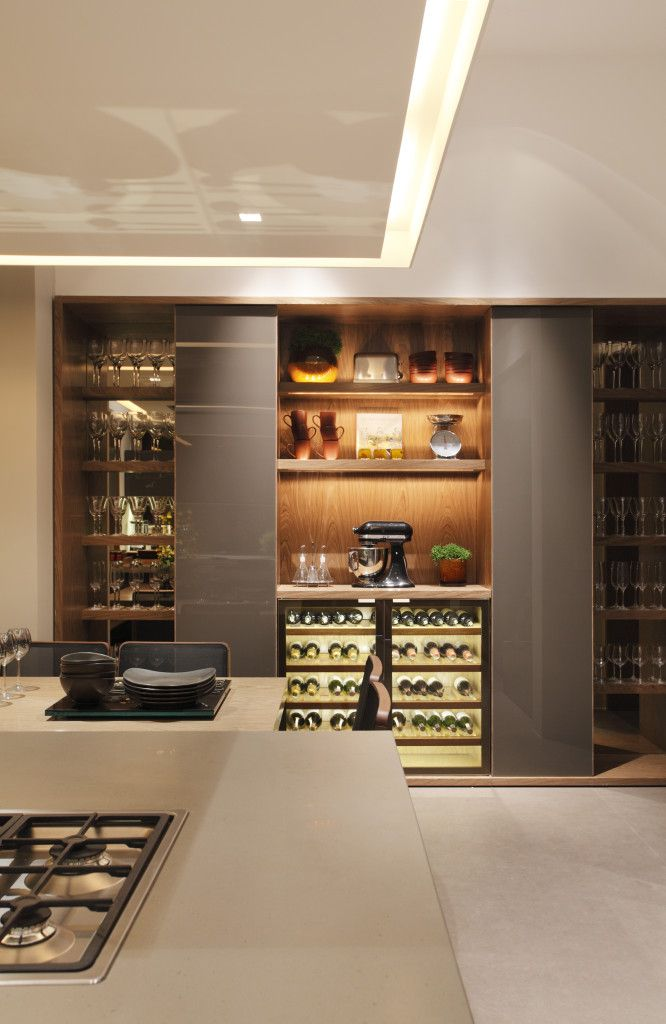 Can't have a wine cellar? Guess we'll just have the wine closet