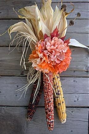 12 Best Indian Corn Decorations Images On Pinterest Diy