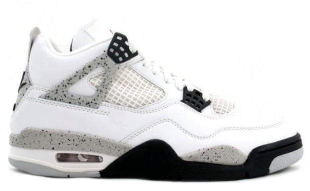 Air Jordan 4 Retro White Black Tech Grey 308497 103 For Sale, cheap Jordan  If you want to look Air Jordan 4 Retro White Black Tech Grey 308497 103 For  Sale, ...