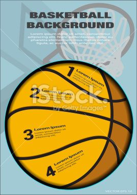 Basketball Theme Backgrounds - Illustration