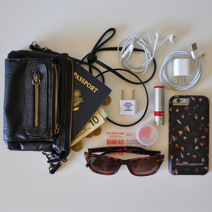 This mini crossover/wristlet purse has traveled with me on many occasions, including our recent trip to Europe. I love how small it is, preventing the Mary Poppins purse syndrome - toting around a million unneeded things in a giant purse. 🤦🏼‍♀️ It perfectly fits essentials like my passport, cash, charger, phone, and the like. Backpacks aren't typically allowed in major museums, but I could bring in all of my essentials with this little purse. Honestly, the phone charger was used the most…