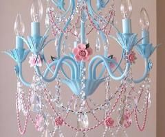 Would be perfect in a Cinderella themed room for a little girl =)