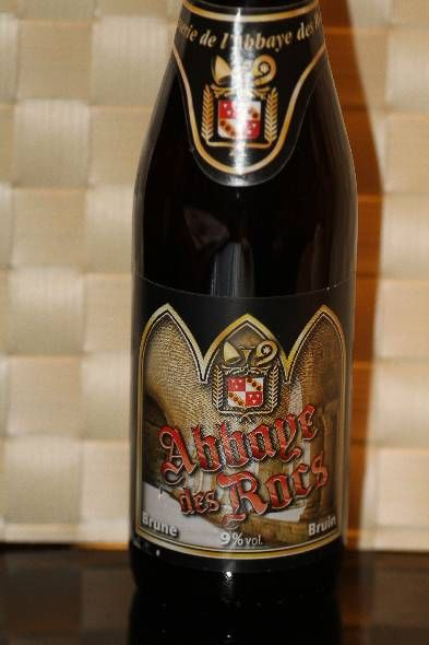 Belgian: Abbaye des Rocs, one of the best beers in Belgium