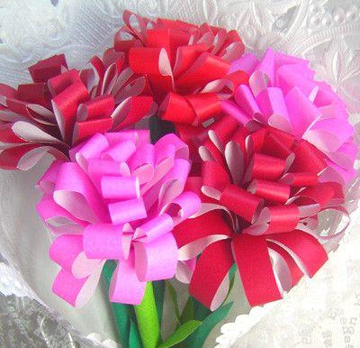 母の日にパパと作ろう折り紙カーネーション - 母の日   プレゼント 花 カーネーション - AllAbout