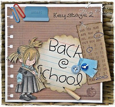 LOTV - Back to School Girl by DT Fleur