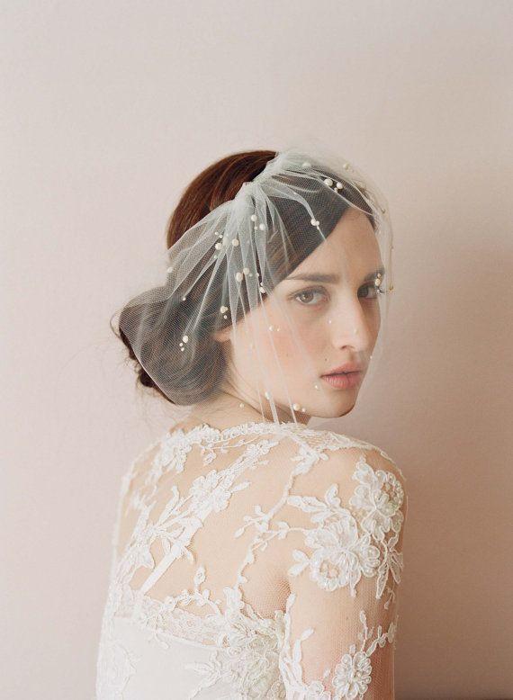 Hairpiece veil!