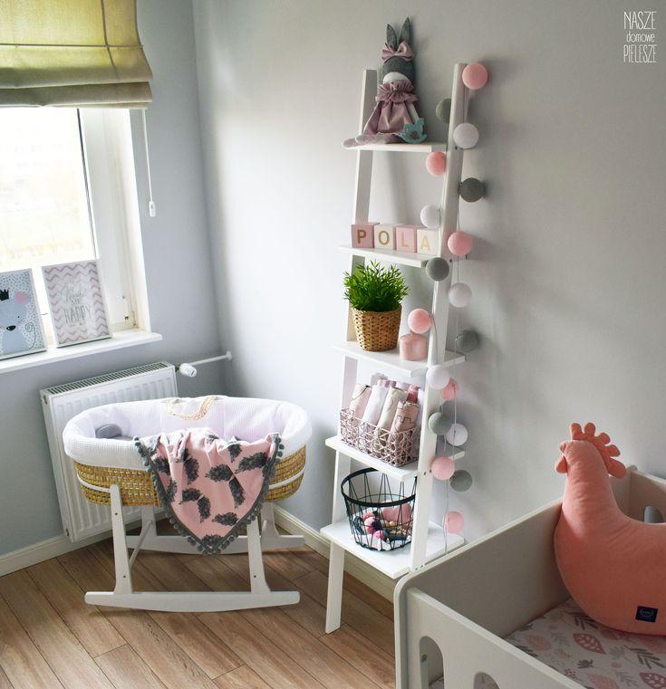 Drabinka Aniela Niebiańska w pokoju dziecięcym -->> sprawdź drabinki na stronie  #ladder #drabinka #kidsroom #homedecor