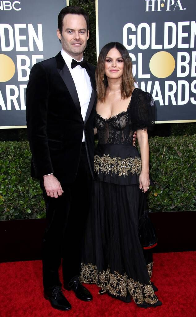 Red Carpet Pro From Rachel Bilson And Bill Hader S Golden Globes