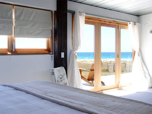 Ocean views from the master bedroom | Malibu on the Beach - oceanfront retreat in Four Mile Creek, Tasmania
