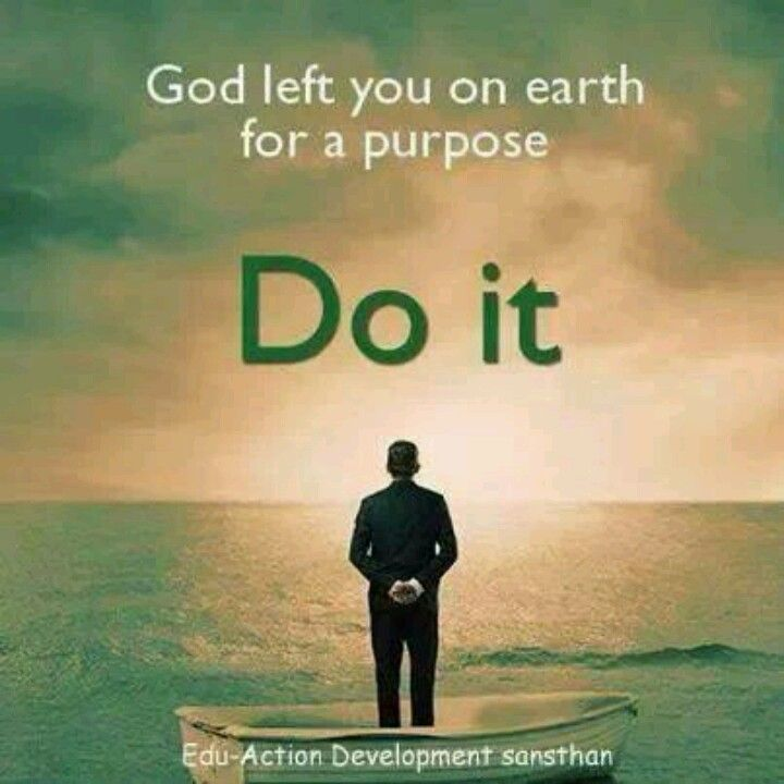 Find your Purpose...SEEK God!
