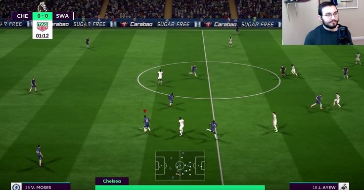 Let's play FIFA 18: Chelsea vs. Swansea City