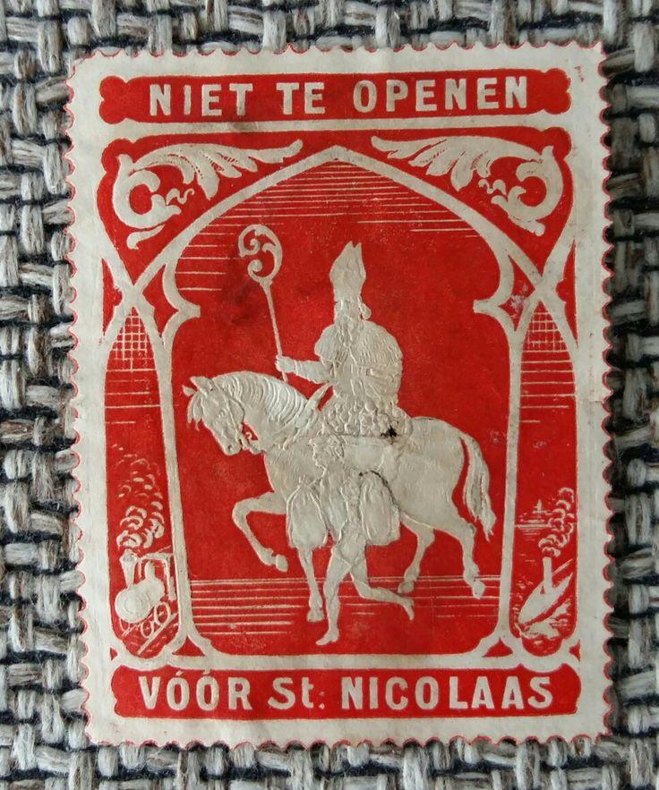 Sinterklaas Sint Nicolaas  sluitzegel