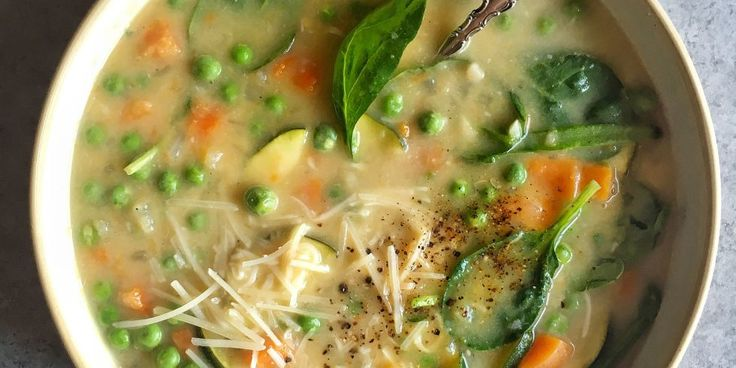 50 Spring soups: Put a little spring in your soup.