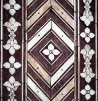 wood with ivory inlay