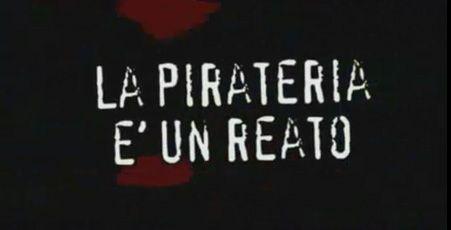 Lo spot anti-pirateria? Un caso di #pirateria