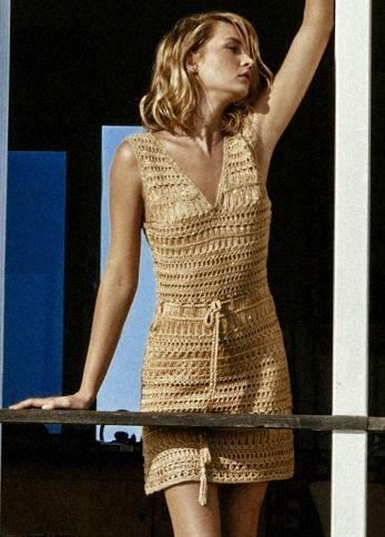 MELISSA ODABASH Tiffany Crochet Dress SHOP NOW - www.rosatocollections.com #melssa #odabash #tiffany #dress