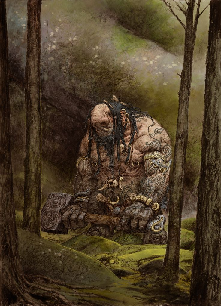 Blood Rage artwork by Adrian Smith.