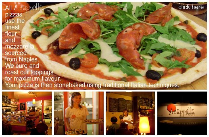 home - A cappella - cafe, pizzeria, Bristol, pizza