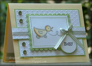 "Uses Stampin' Up!'s ""Bundled in Love"""