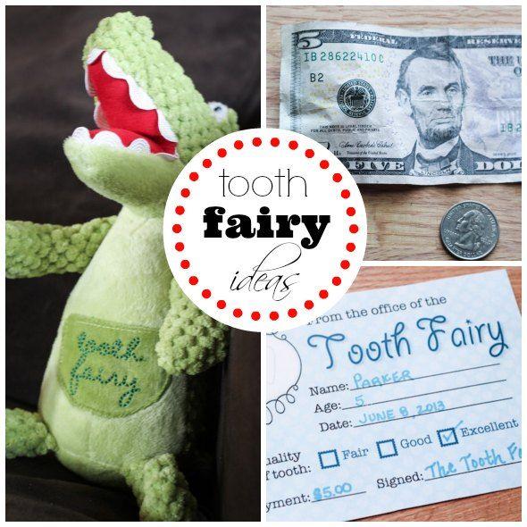 Tooth Fairy Ideas Boys