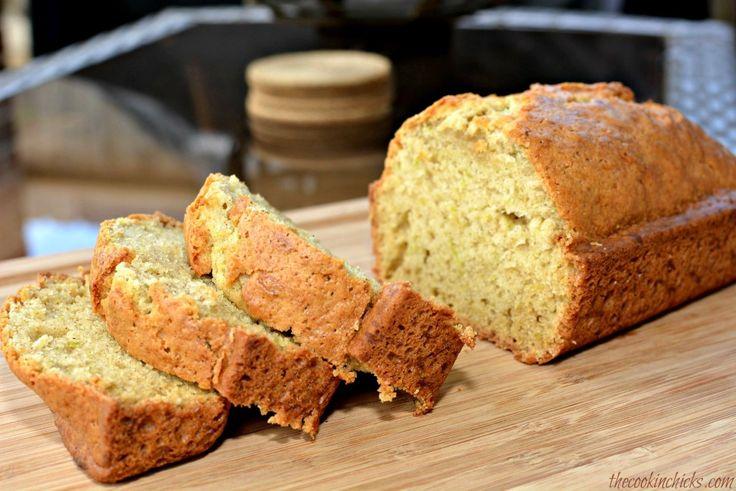 Good Ol' Zucchini Bread- The Cookin' Chicks