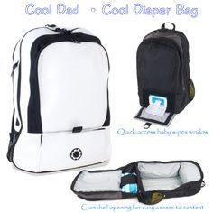 New Dad Gifts:Cool Diaper Bag