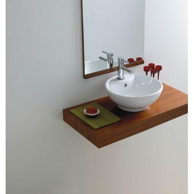 PERFECT FOR THE POWDER ROOM Phoenix Counter Top Basin VB002 | Kings Bathroom