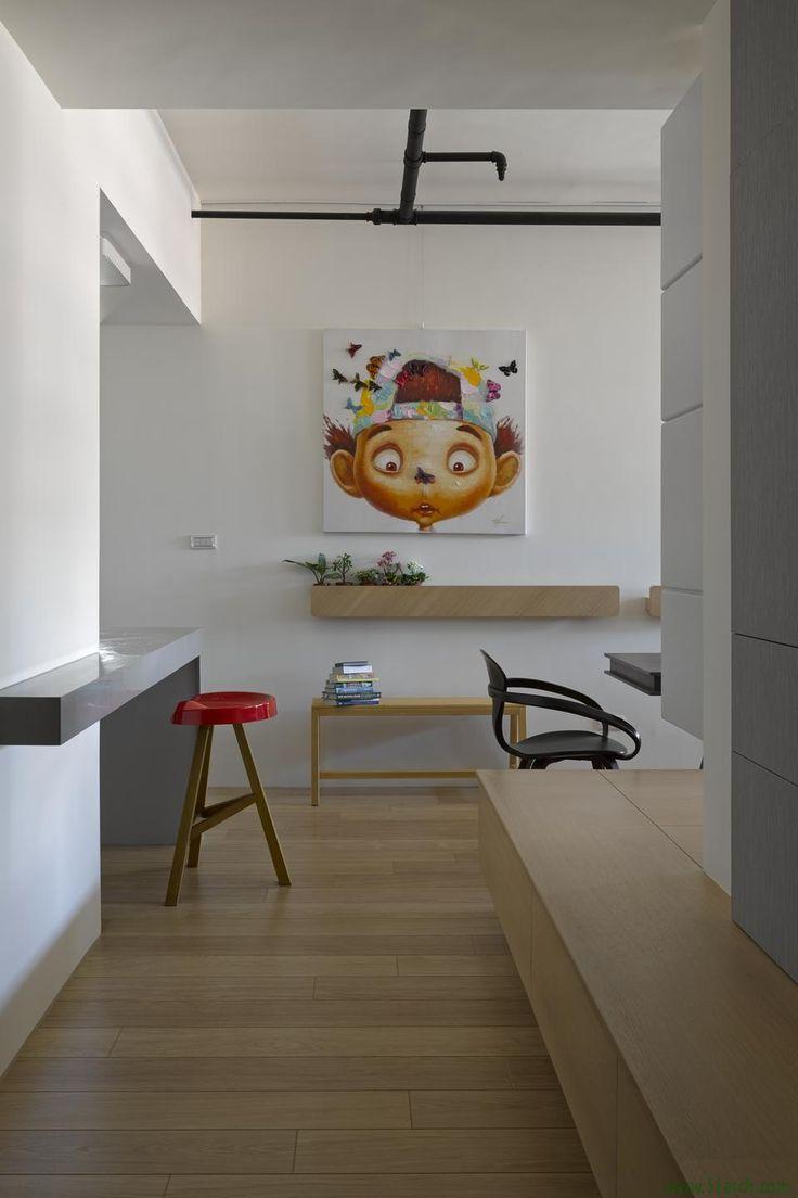 Ganna Studio designed the 'Overlap' in Taoyuan, Taiwan. http://en.51arch.com/2014/12/i0519-overlap/